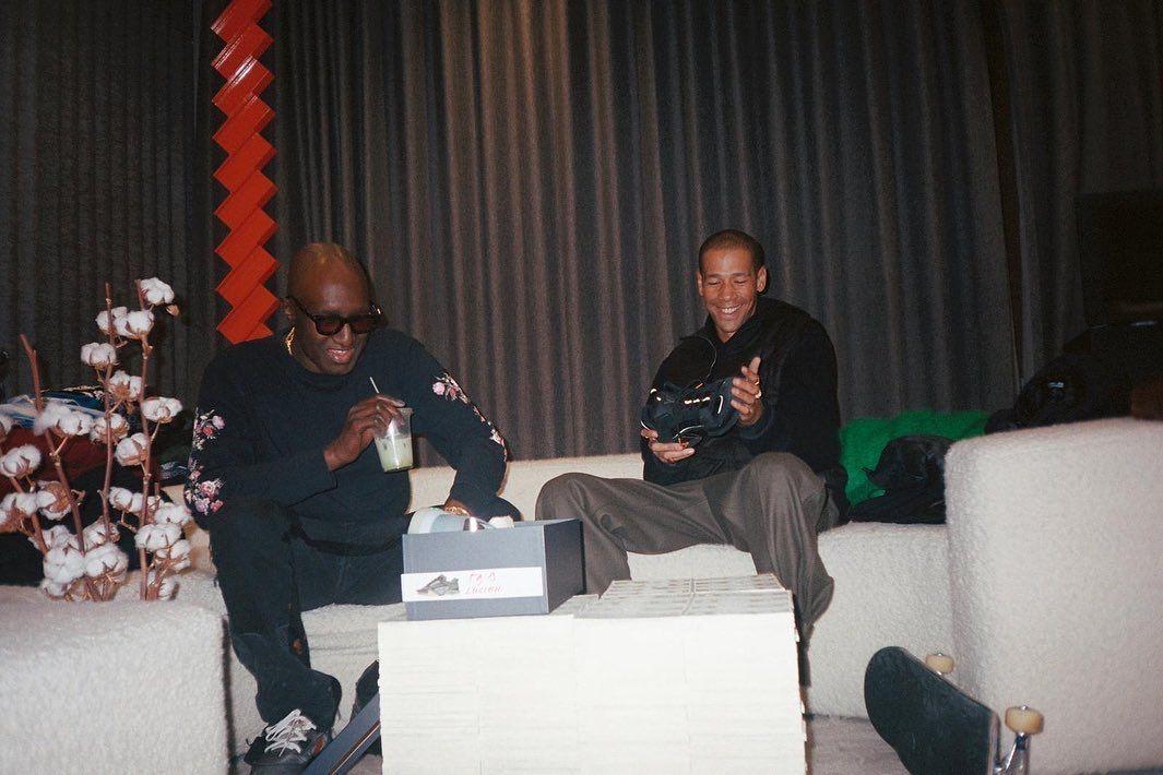 Virgil Abloh e Lucien Clarke Louis Vuitton skate shoe