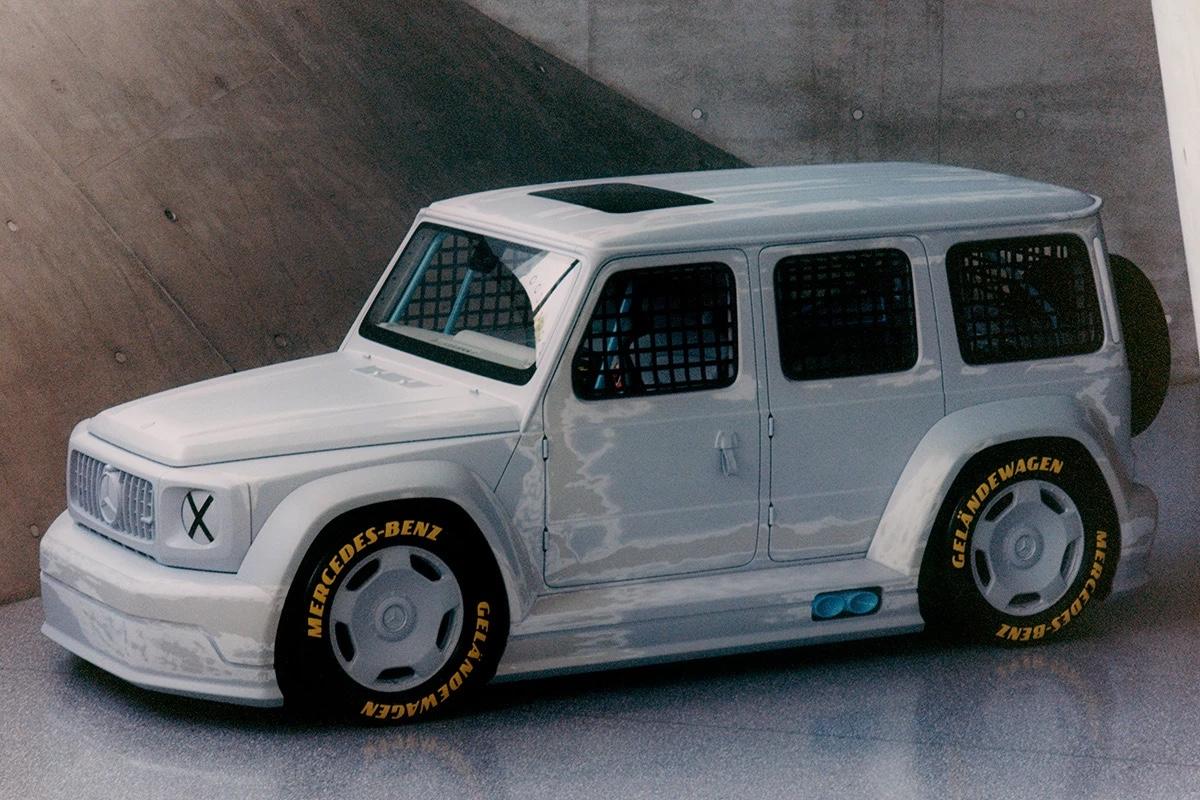 Virgil Abloh x Mercedes Classe G