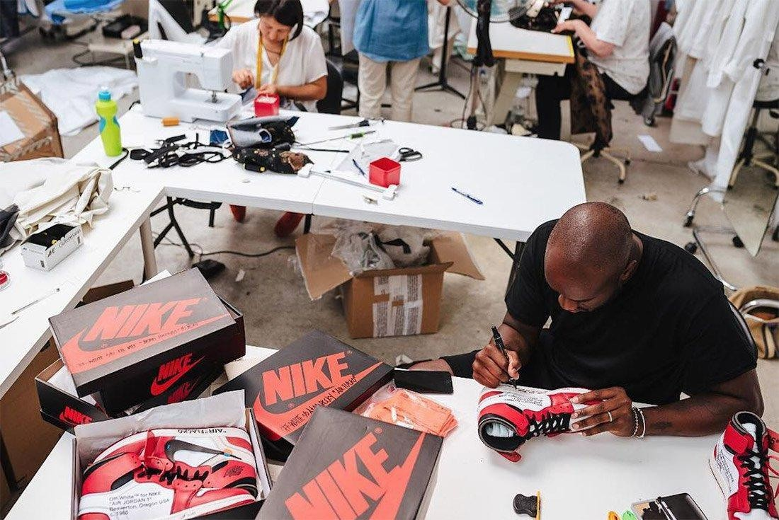 Virgil Abloh Nike Off-White The Ten