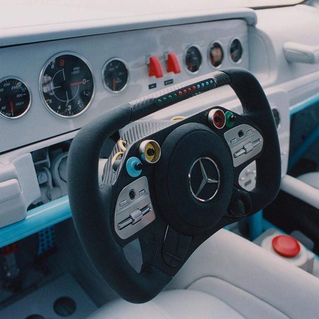 Virgil Abloh x Mercedes-Benz Classe G interni