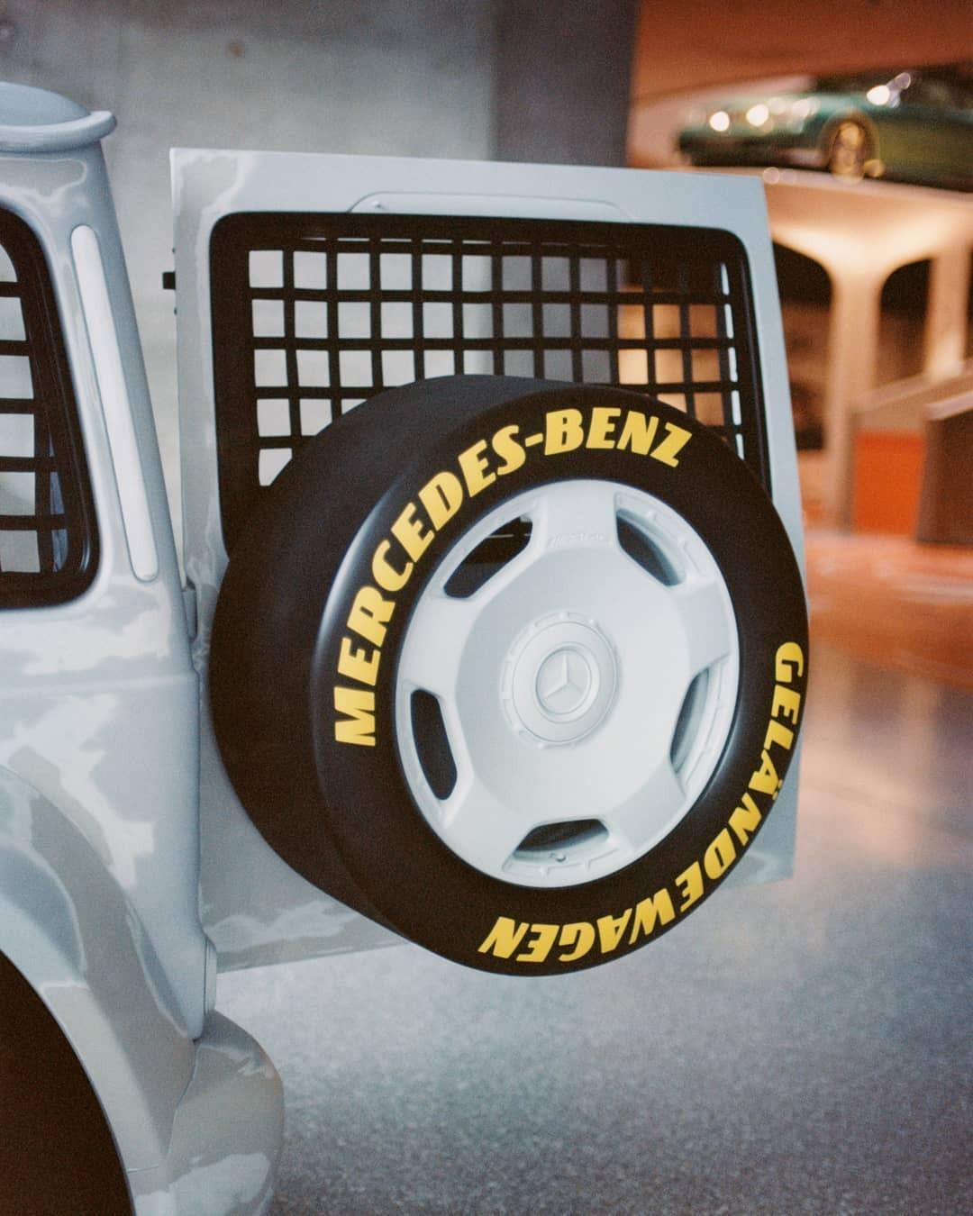 Virgil Abloh x Mercedes-Benz Classe G ruota