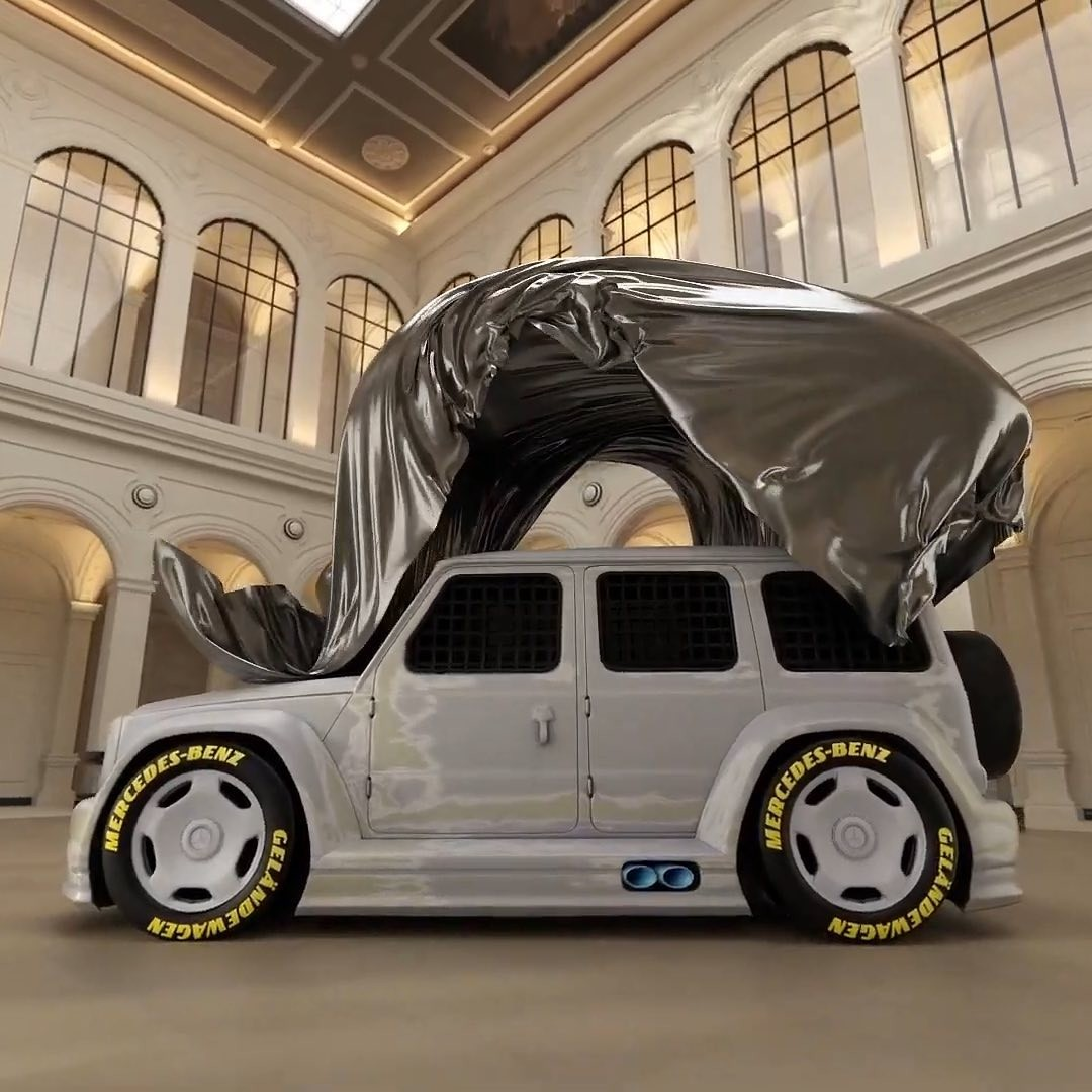 Virgil Abloh x Mercedes-Benz Classe G