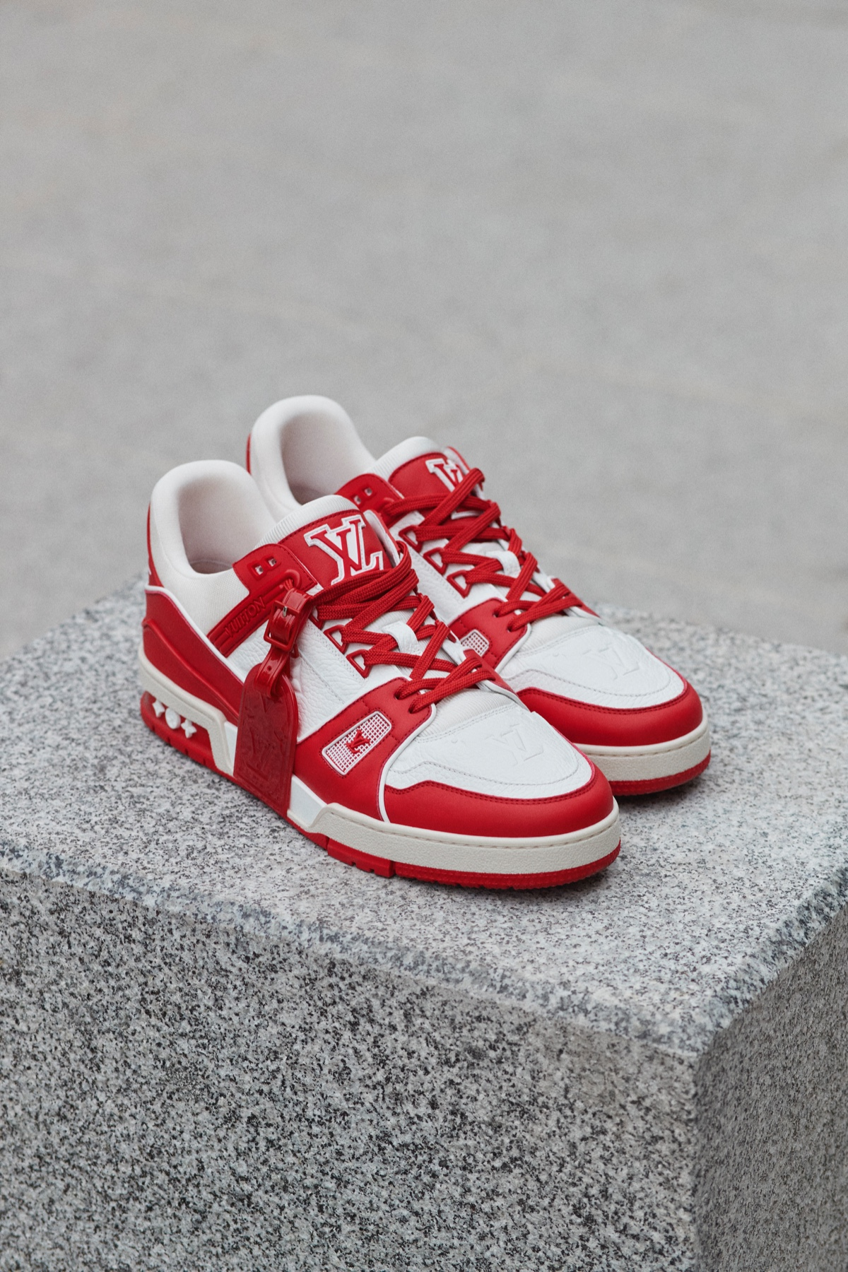 Louis Vuitton LV Trainer (RED) AIDS