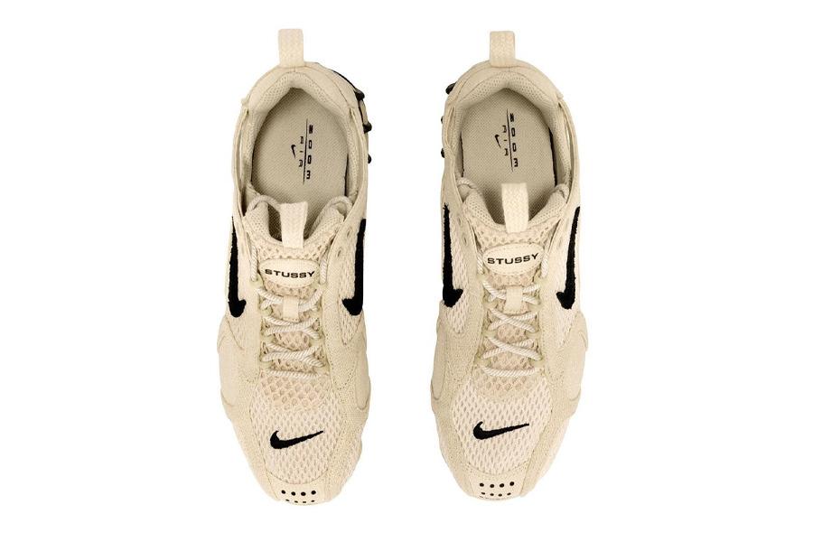 "Stussy x Nike Air Zoom Spiridon Cage 2 ""Fossil"""