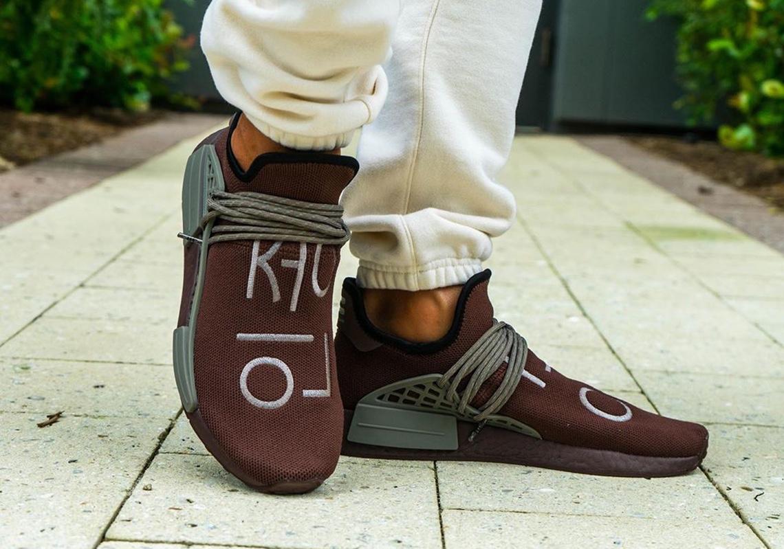adidas Hu NMD x Pharrell Williams 2020 marrone