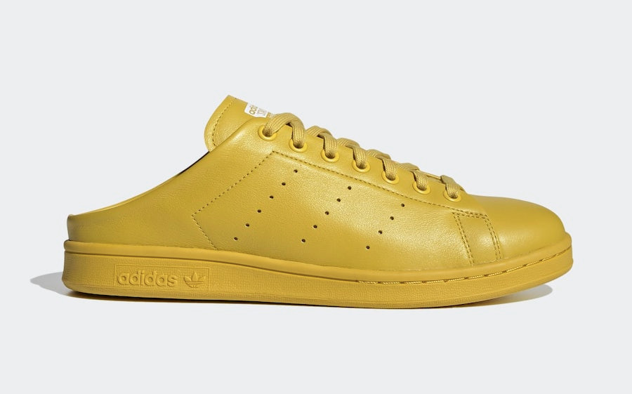 adidas-Stan-Smith-Slip-Yellow