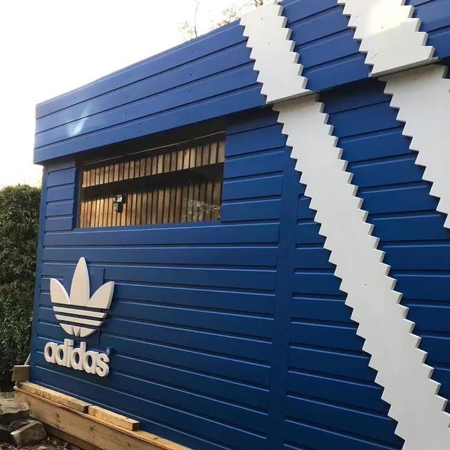 john clark adidas shoe box bar