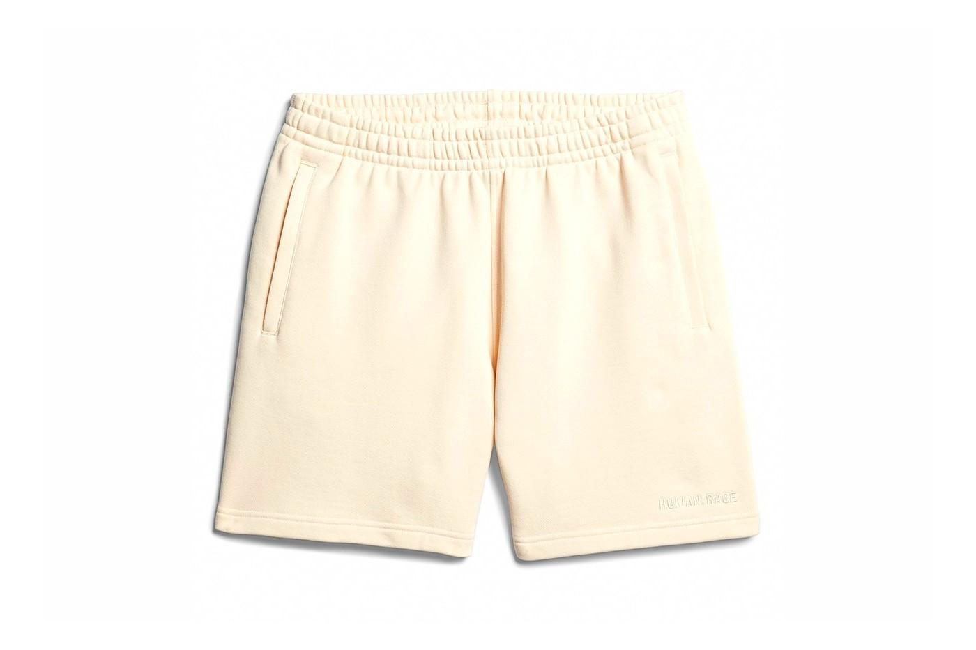 adidas x Pharrell Williams basic line shorts cream