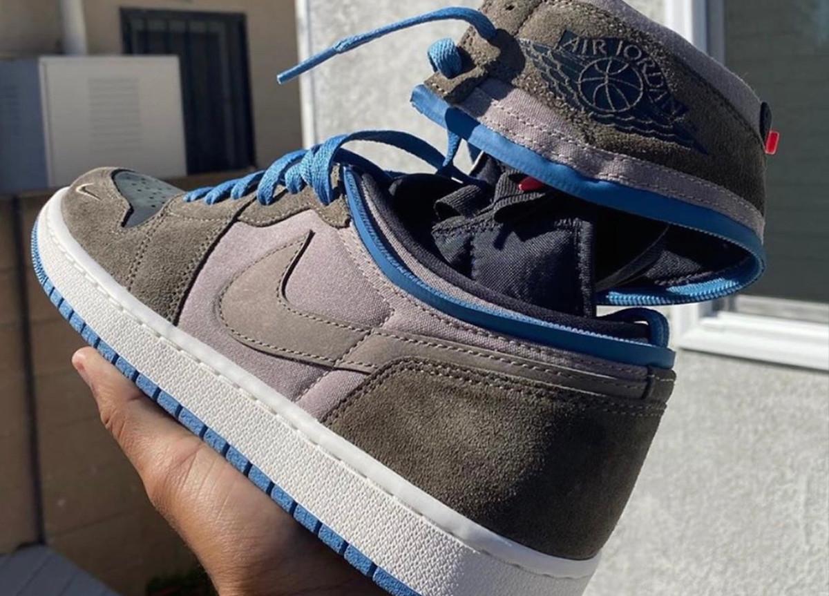 "Air Jordan 1 ""Switch"" si trasformano da High a Low attraverso una zip"