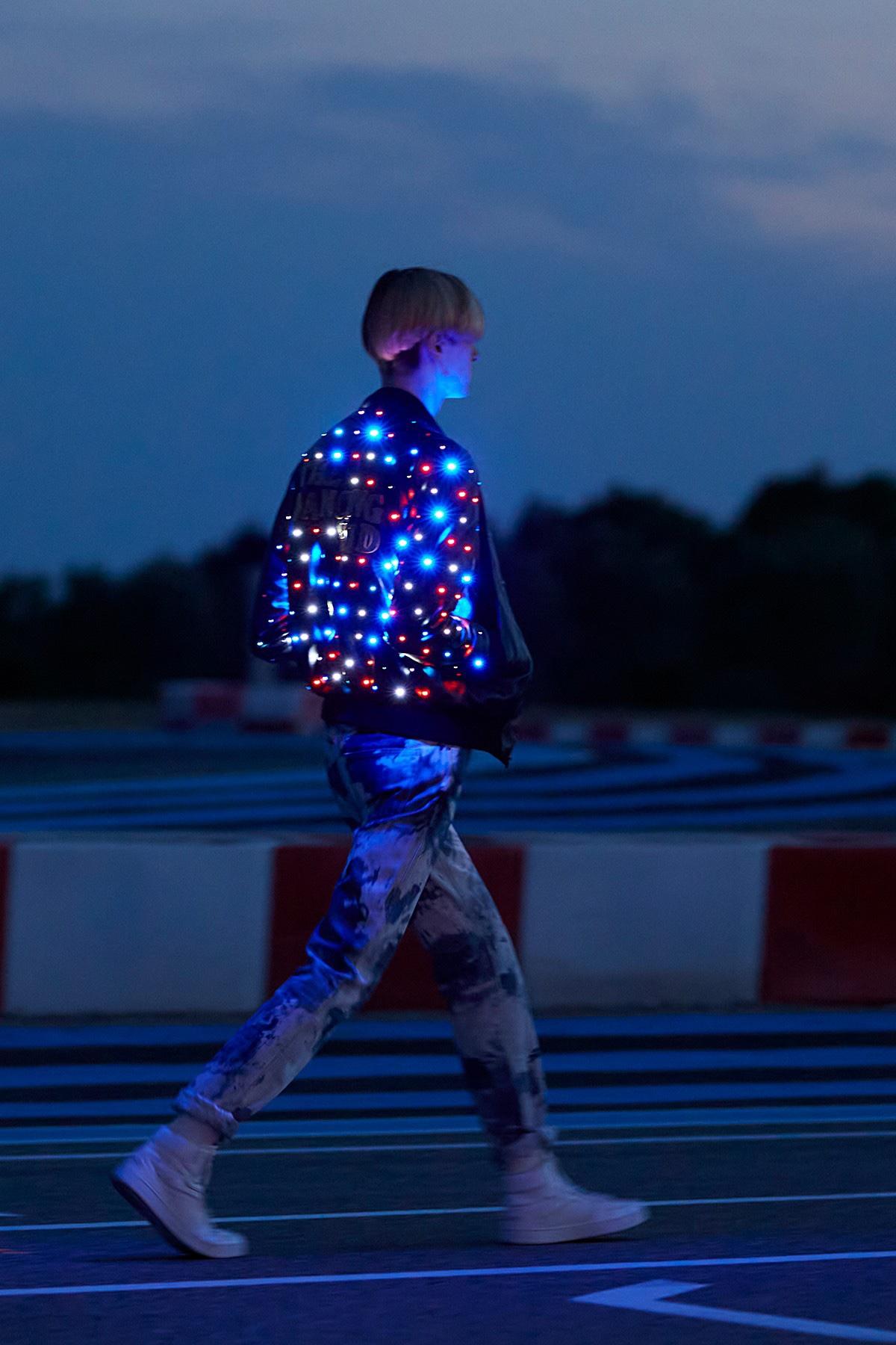 Giacca tecnologia LED