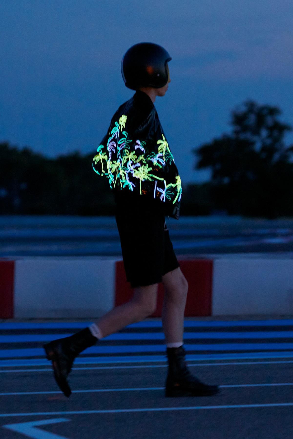 Giacca CELINE tecnologia LED illuminata