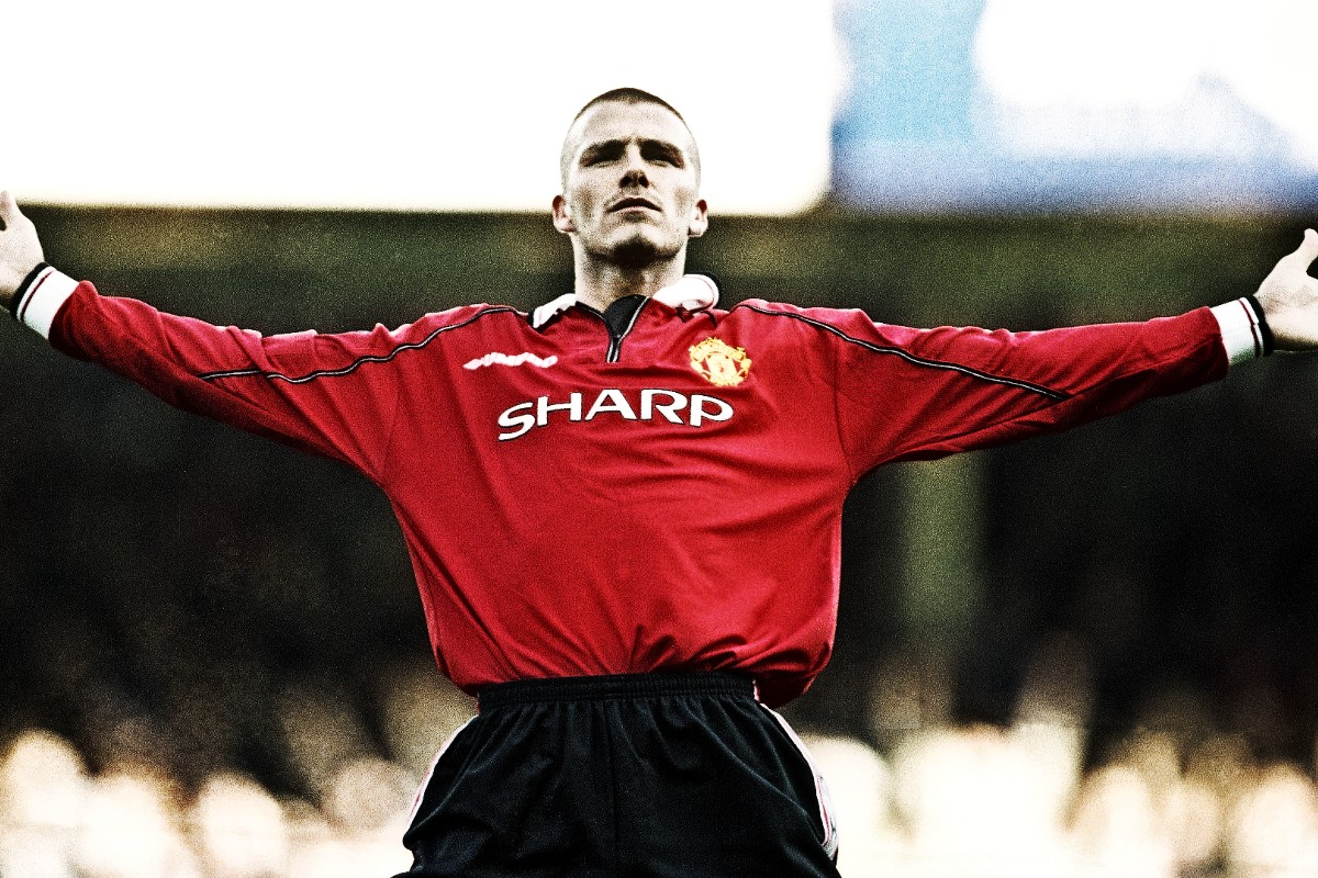 Manchester United David Beckham Sharp