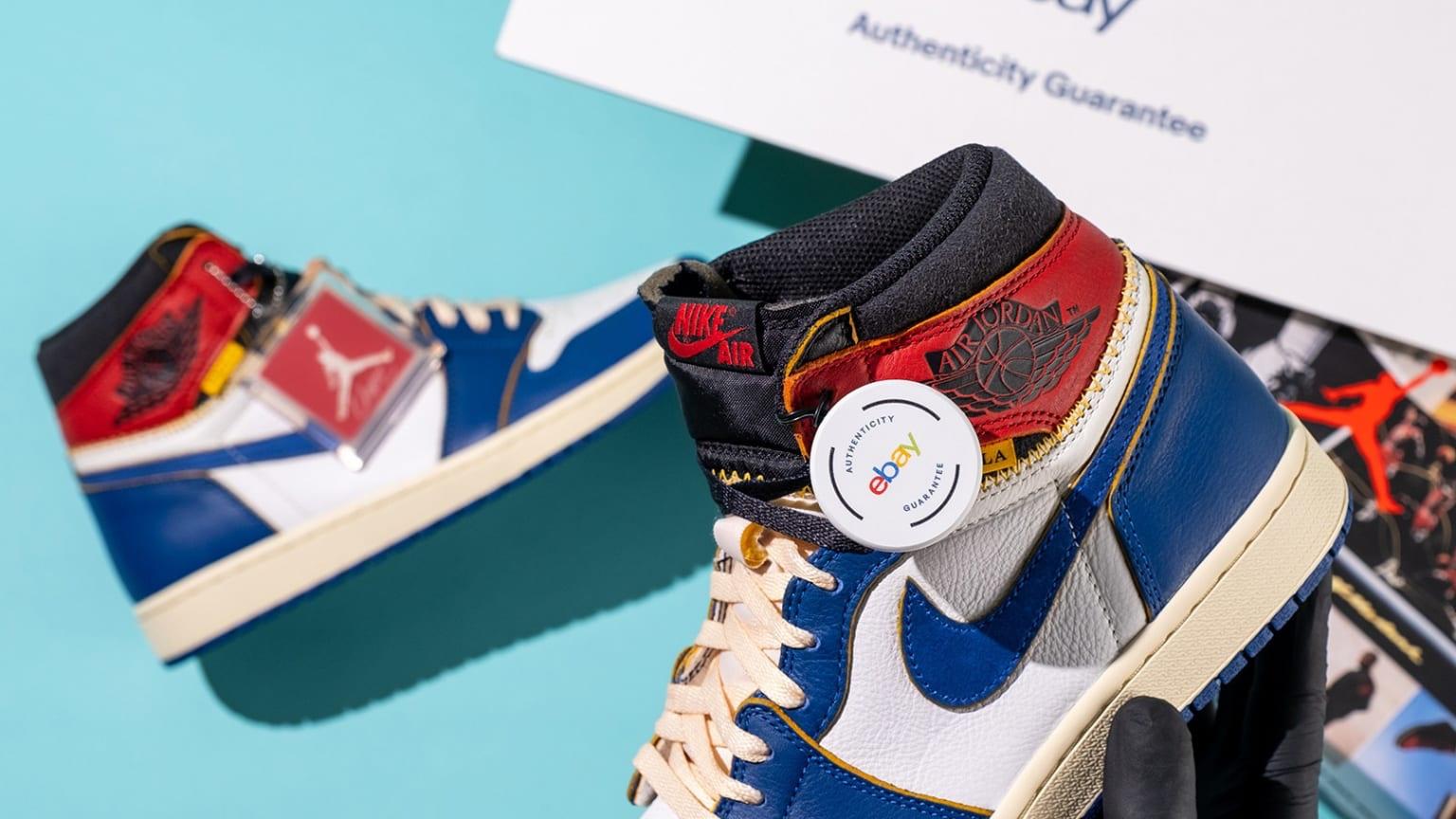 ebay sneakers autenticazione
