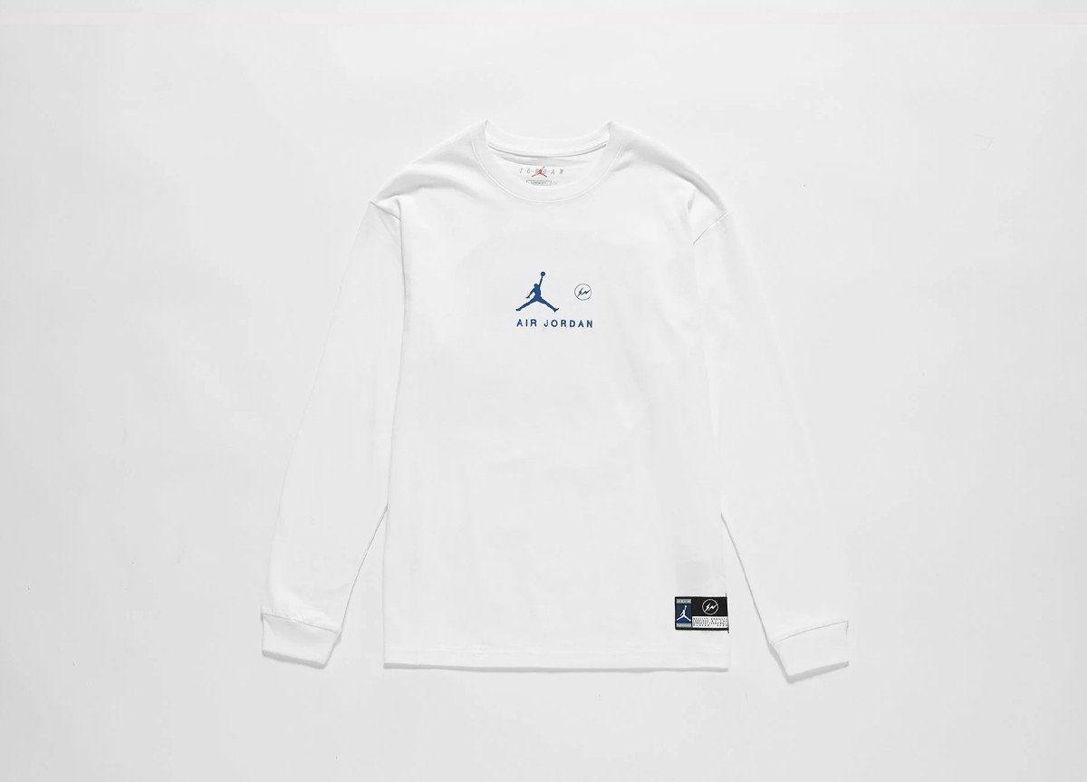 fragment design x Jordan Brand long sleeve
