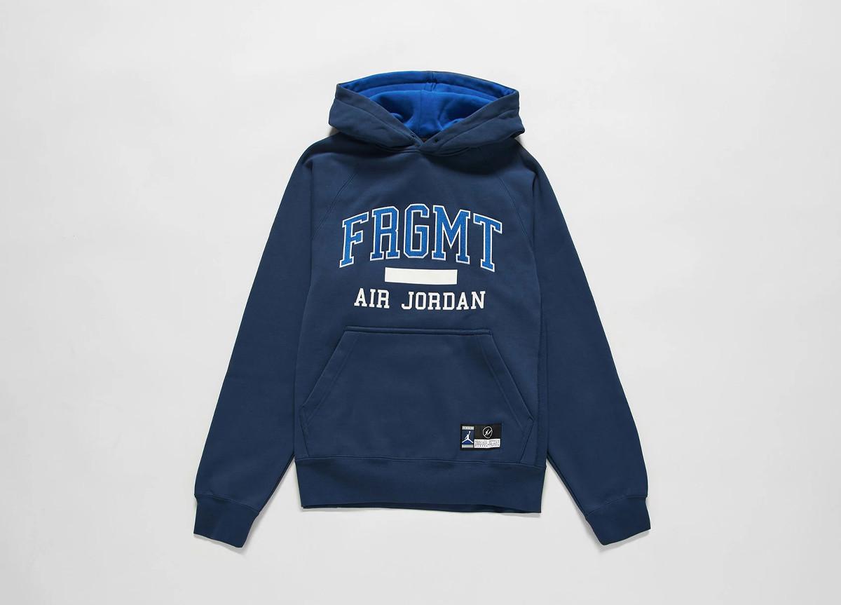 fragment design x Jordan Brand hoodie blu