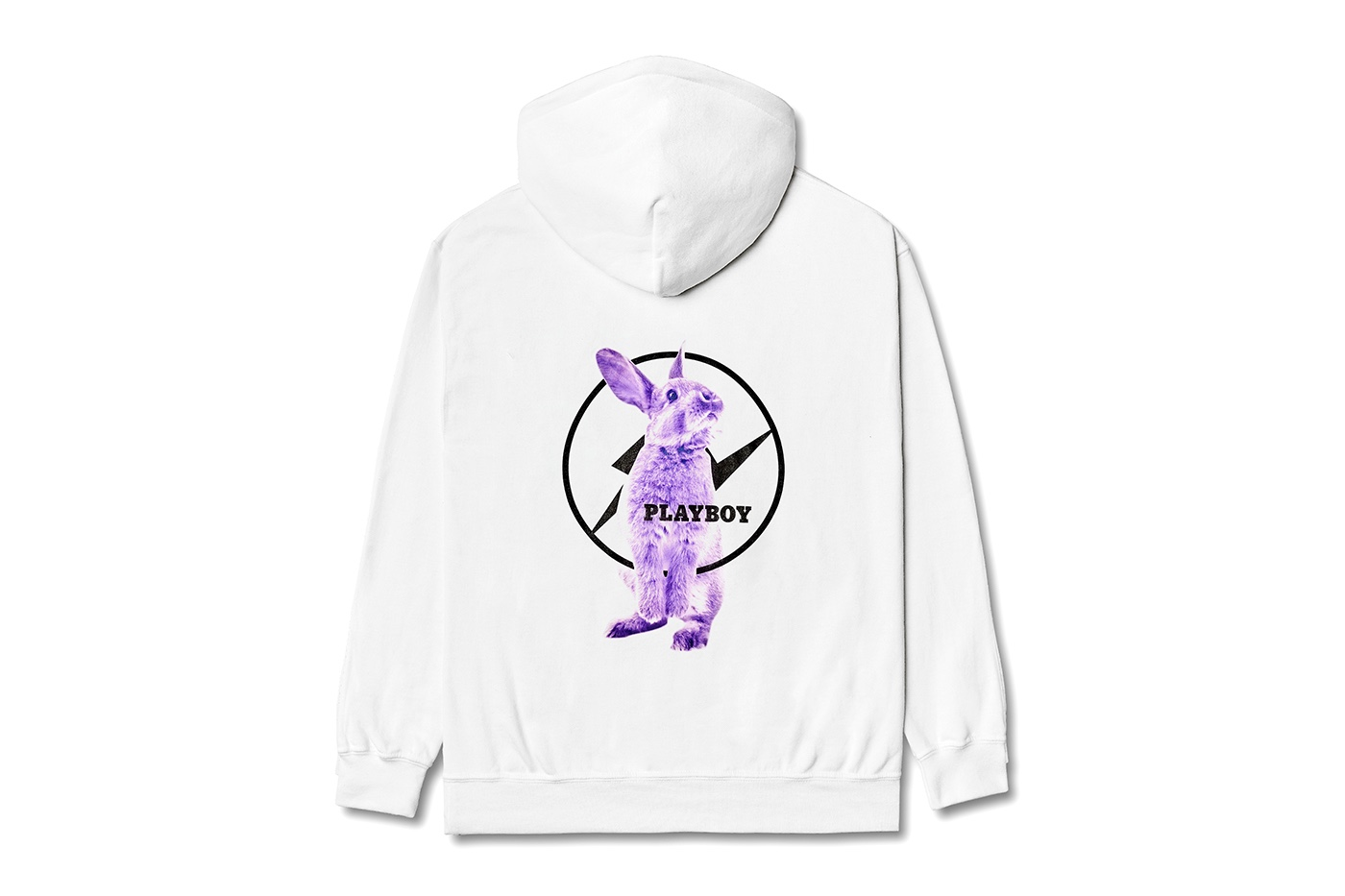 fragment design x Playboy Labs hoodie