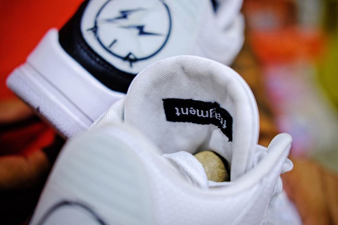 fragment design x Air Jordan 3 release date