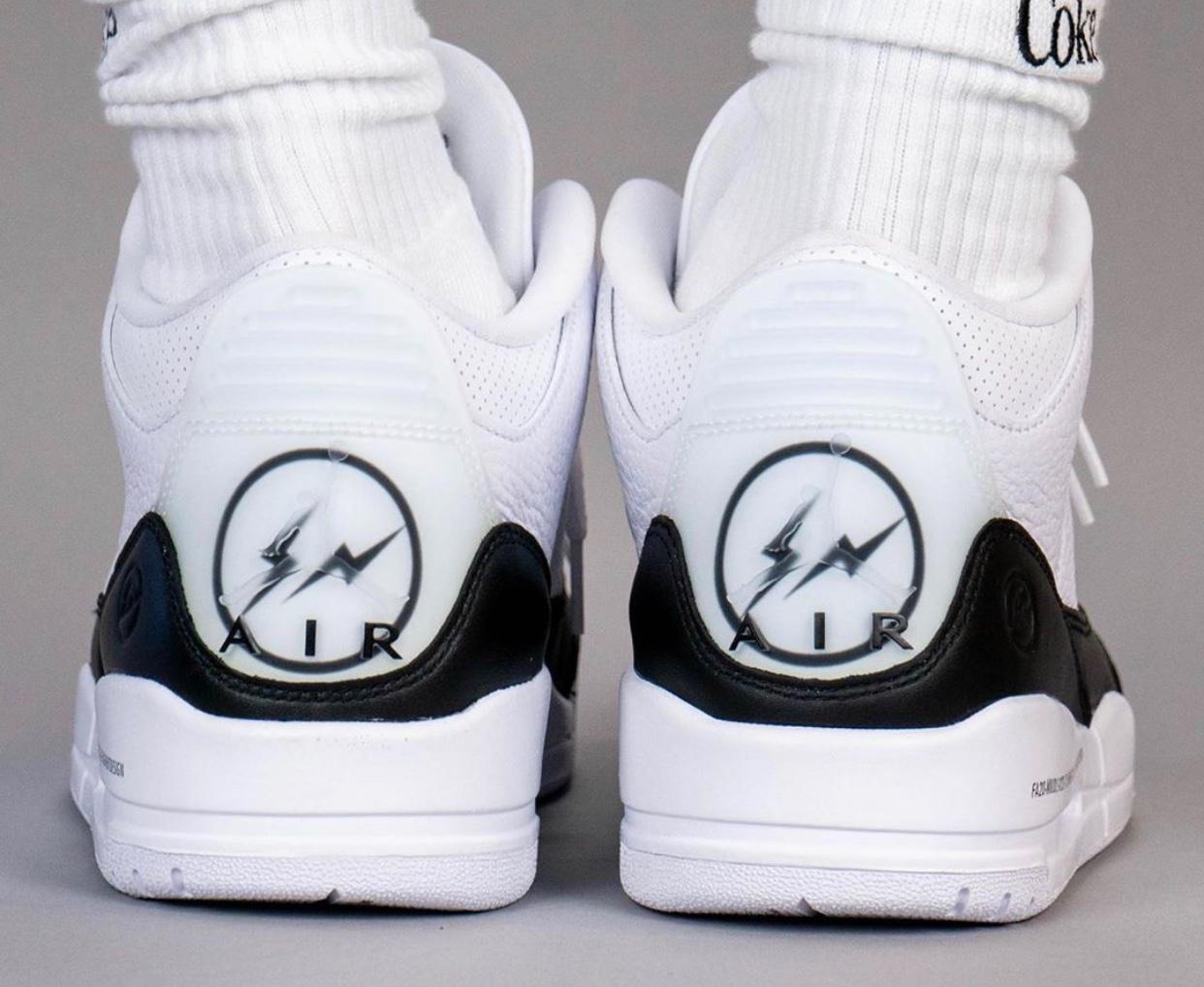 fragment design x Air Jordan 3