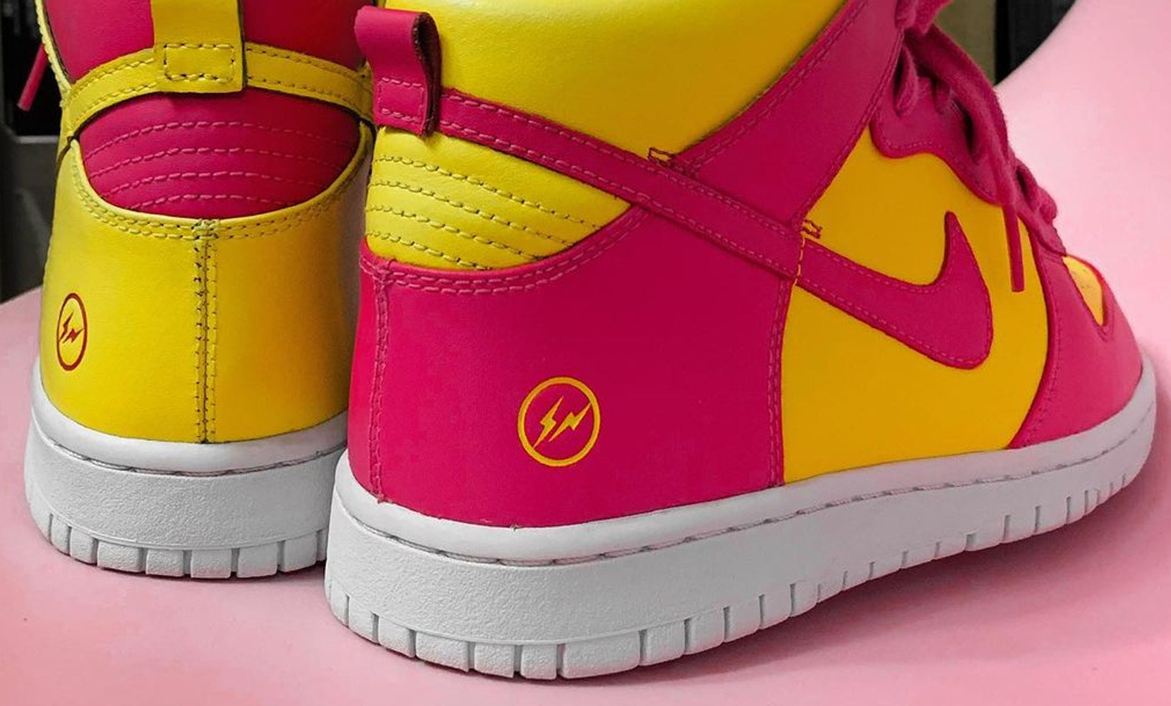 "fragment x Nike Dunk High ""City Pack"""