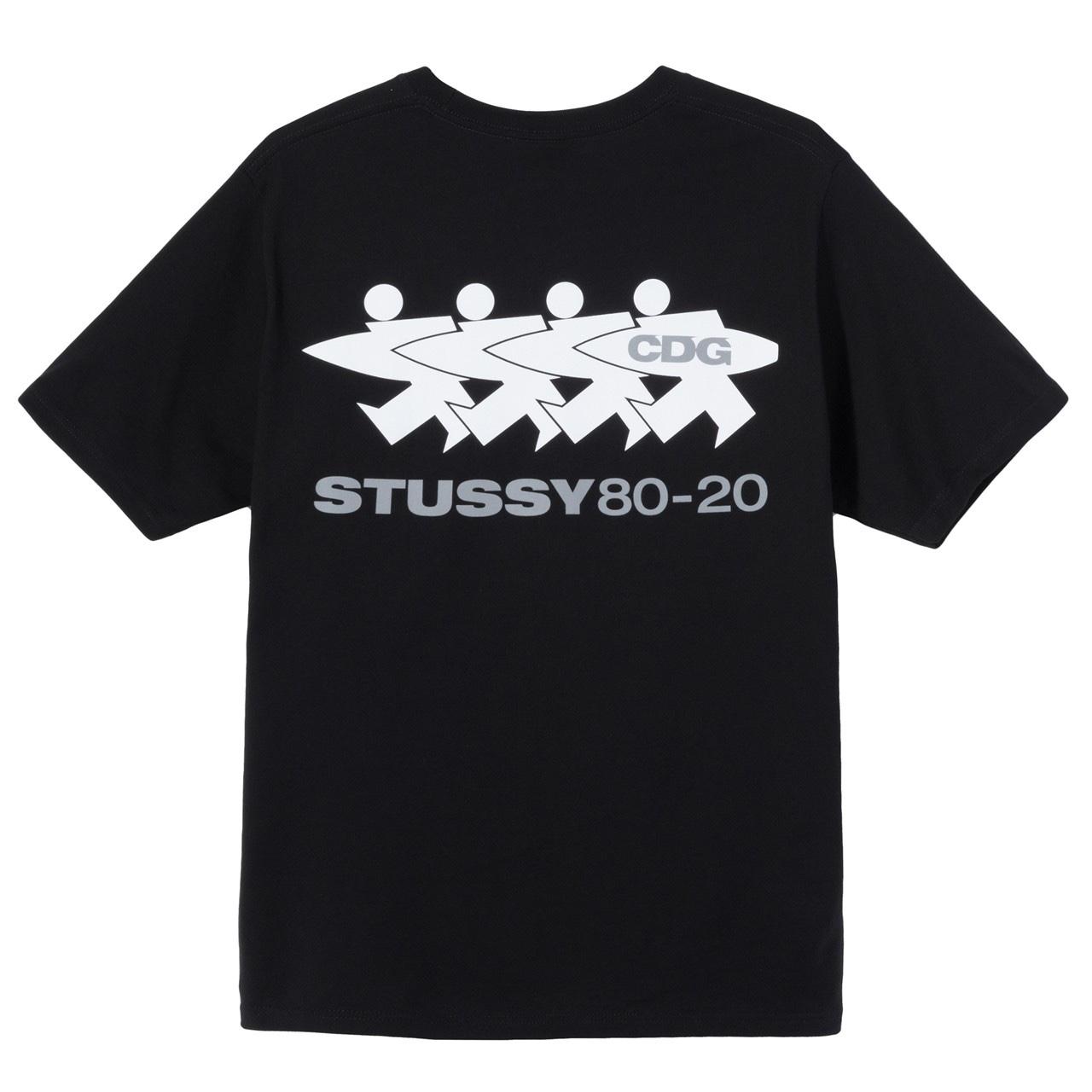 Stussy x CDG tee