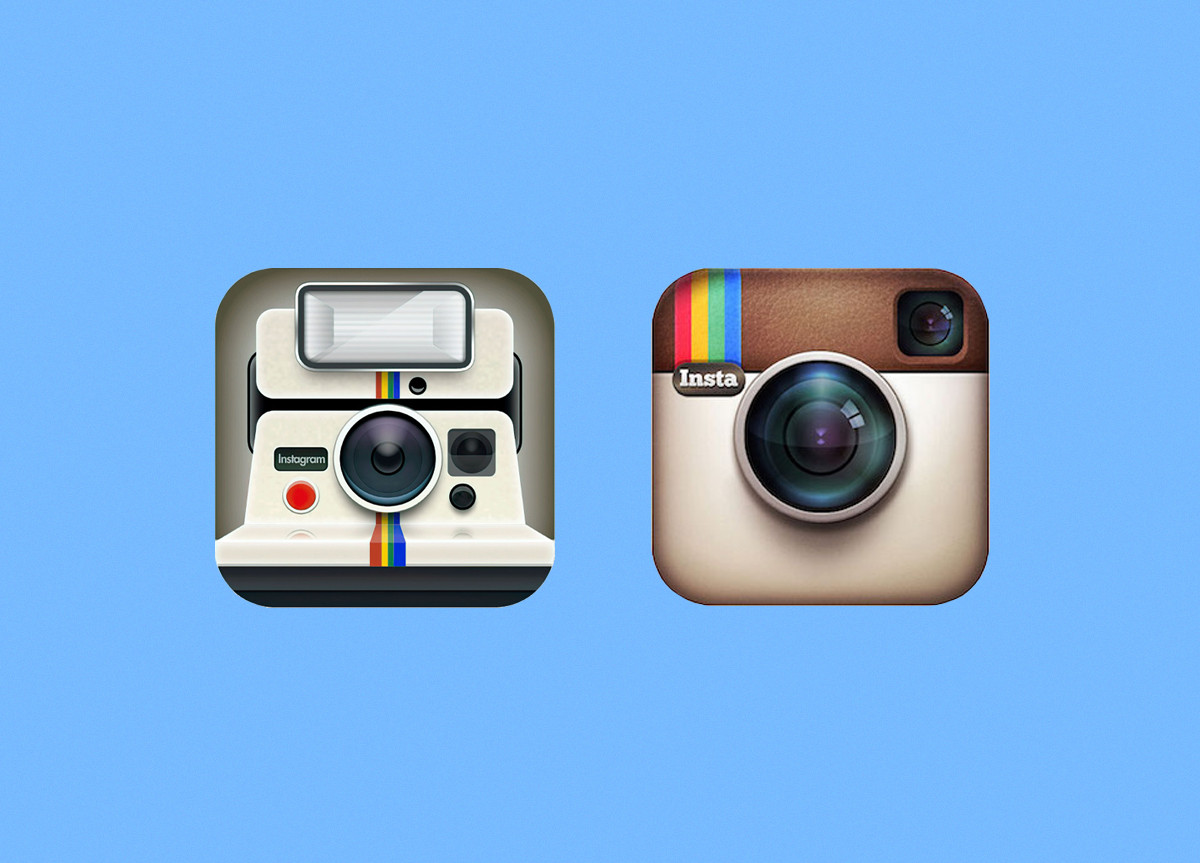 Instagram first logo