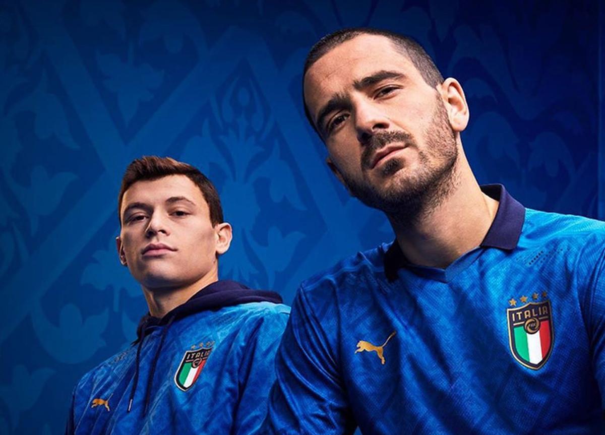 Nazionale Italia Maglia europei 2021