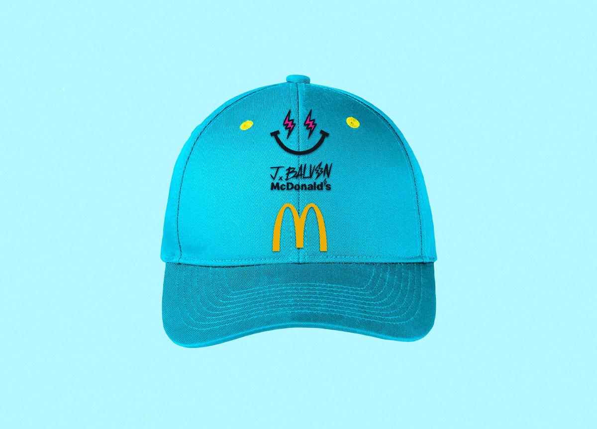 J Balvin x McDonald's occhiali