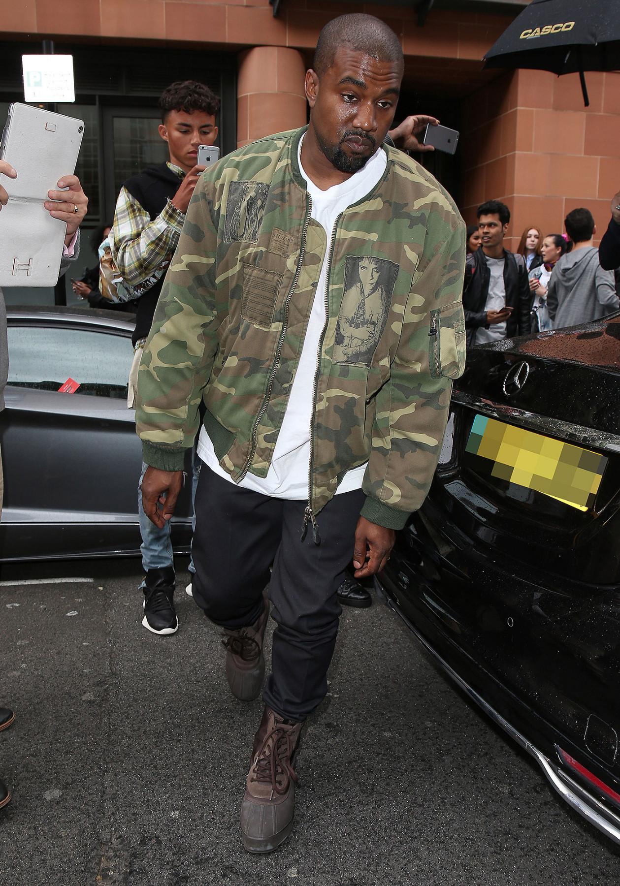 Kanye West Camo