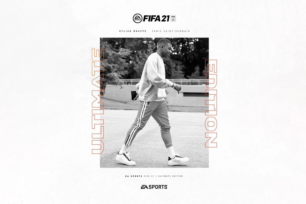 kylian mbappe ea-sports fifa-21 copertina