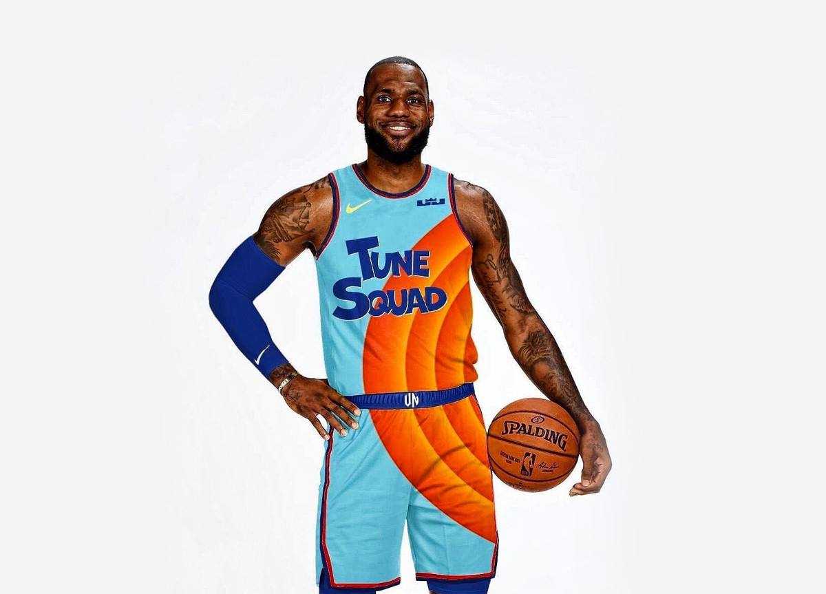 LeBron James Space Jam 2 divise Tune Squad