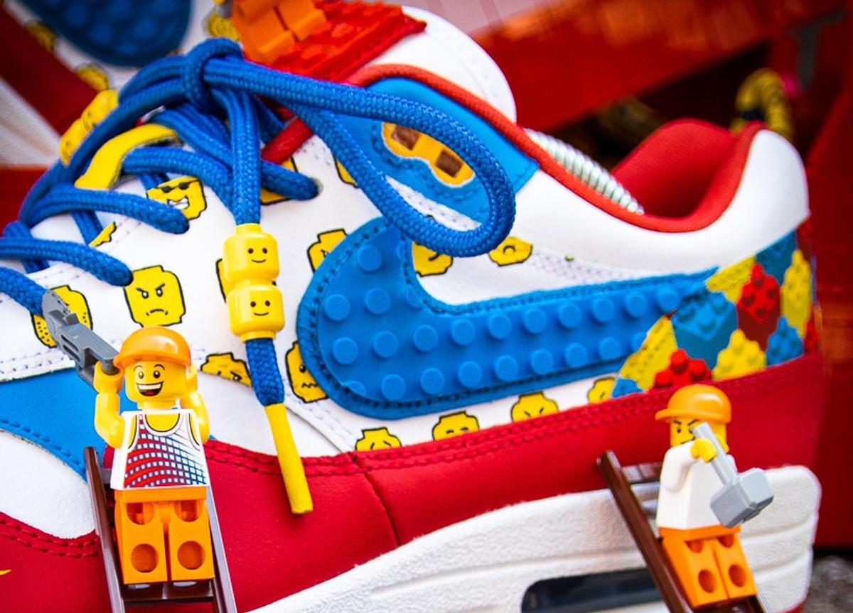 Nike Air Max 1 LEGO