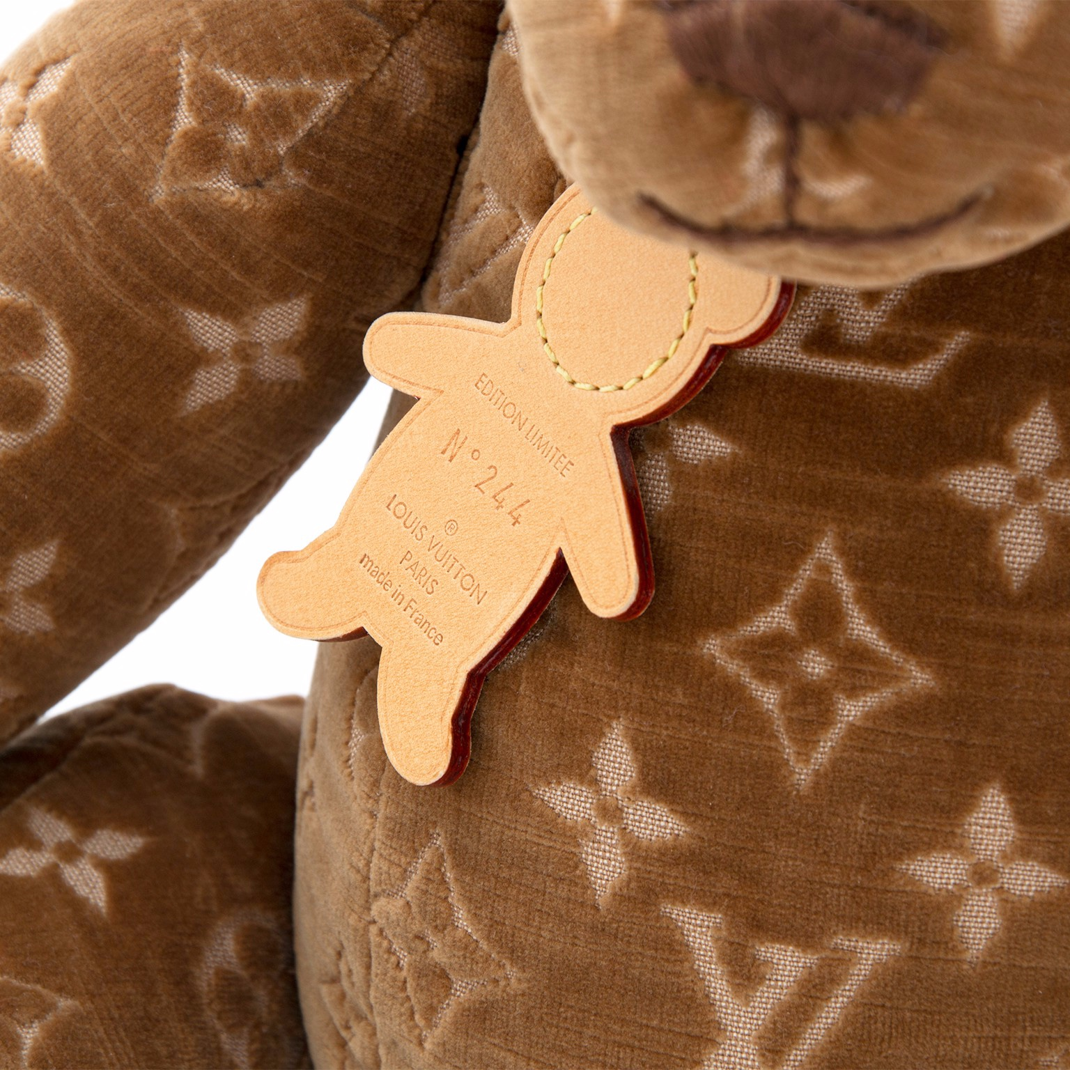 louis vuitton monogram Teddy-Bear