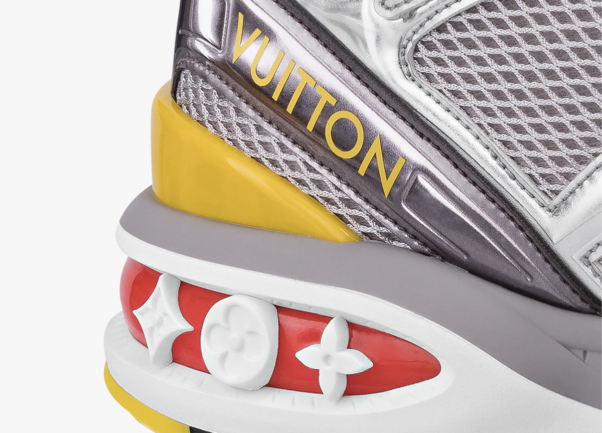 Louis Vuitton LV trail sneaker silver
