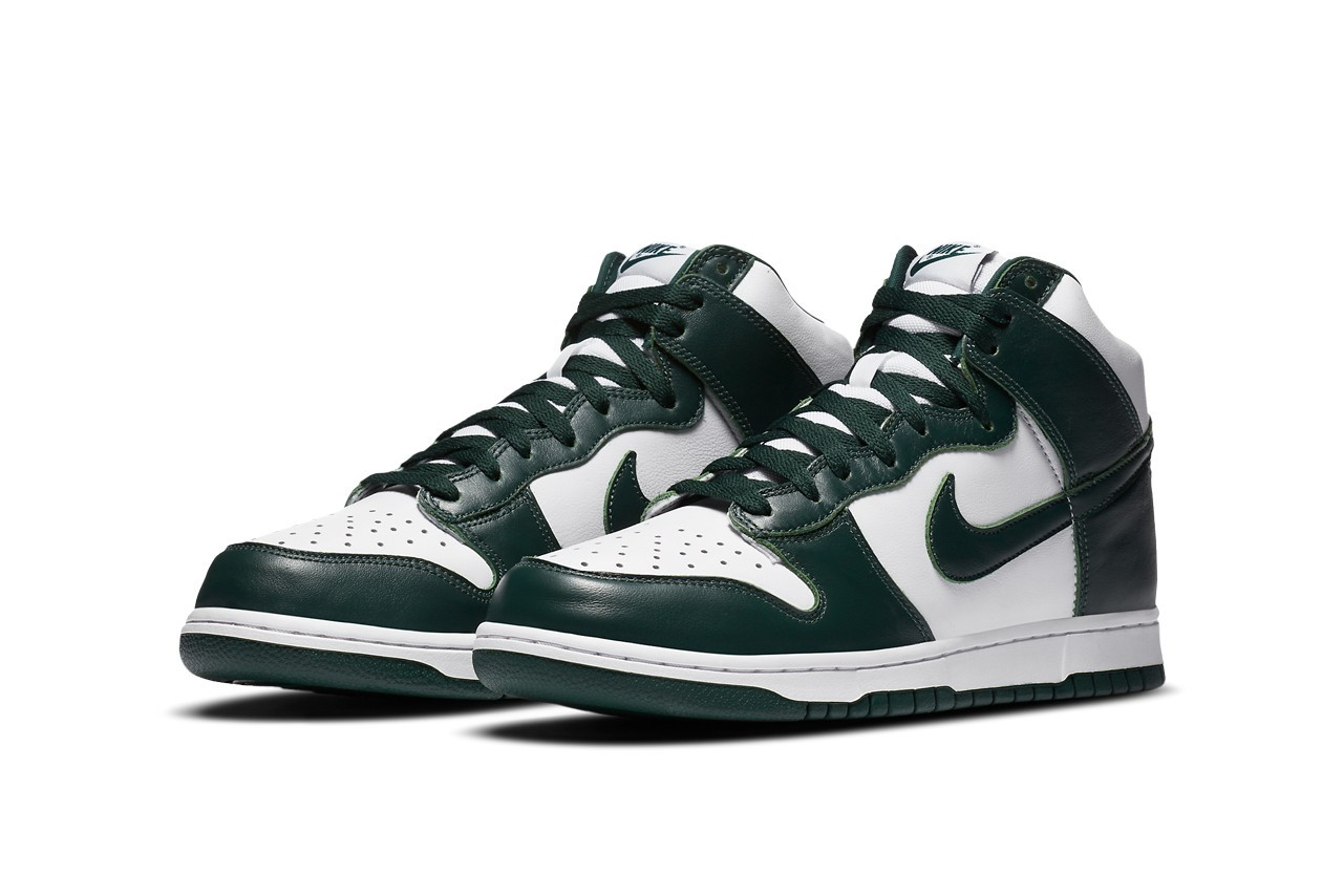 nike dunk high pro green