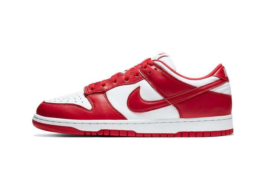 "Nike Dunk Low ""University Red"""