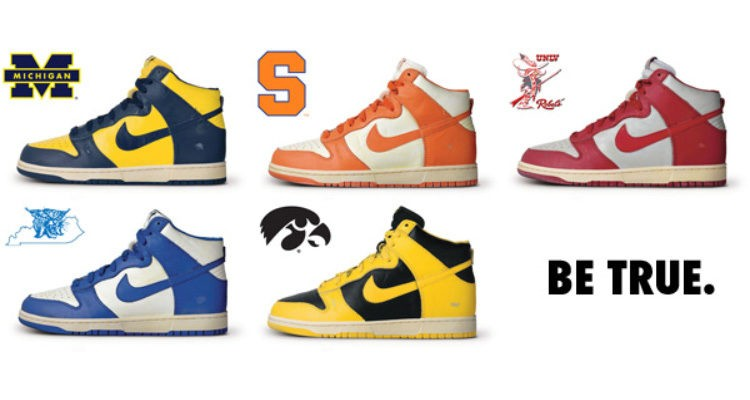 nike dunk be true to your school