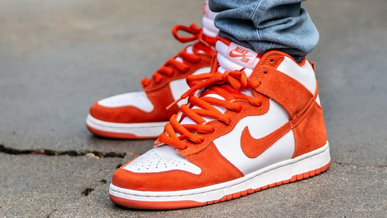 Nike SB Dunk High Orange