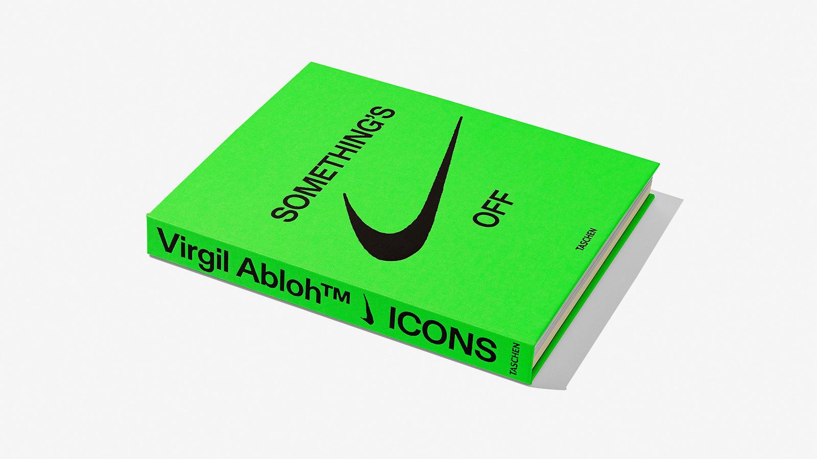 ICON Nike Virgil Abloh libro Taschen