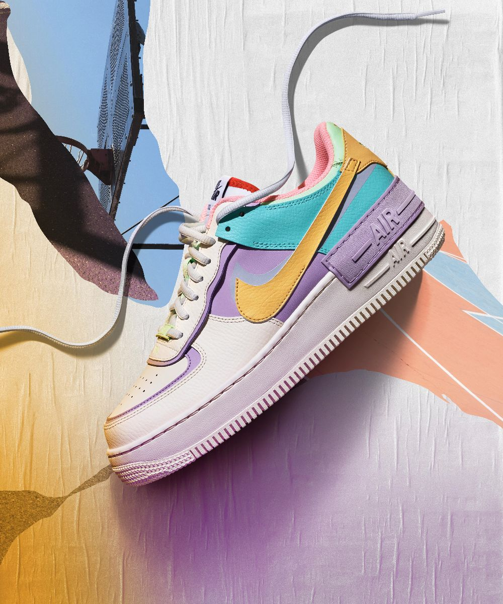 air force 1 nike shadow viola