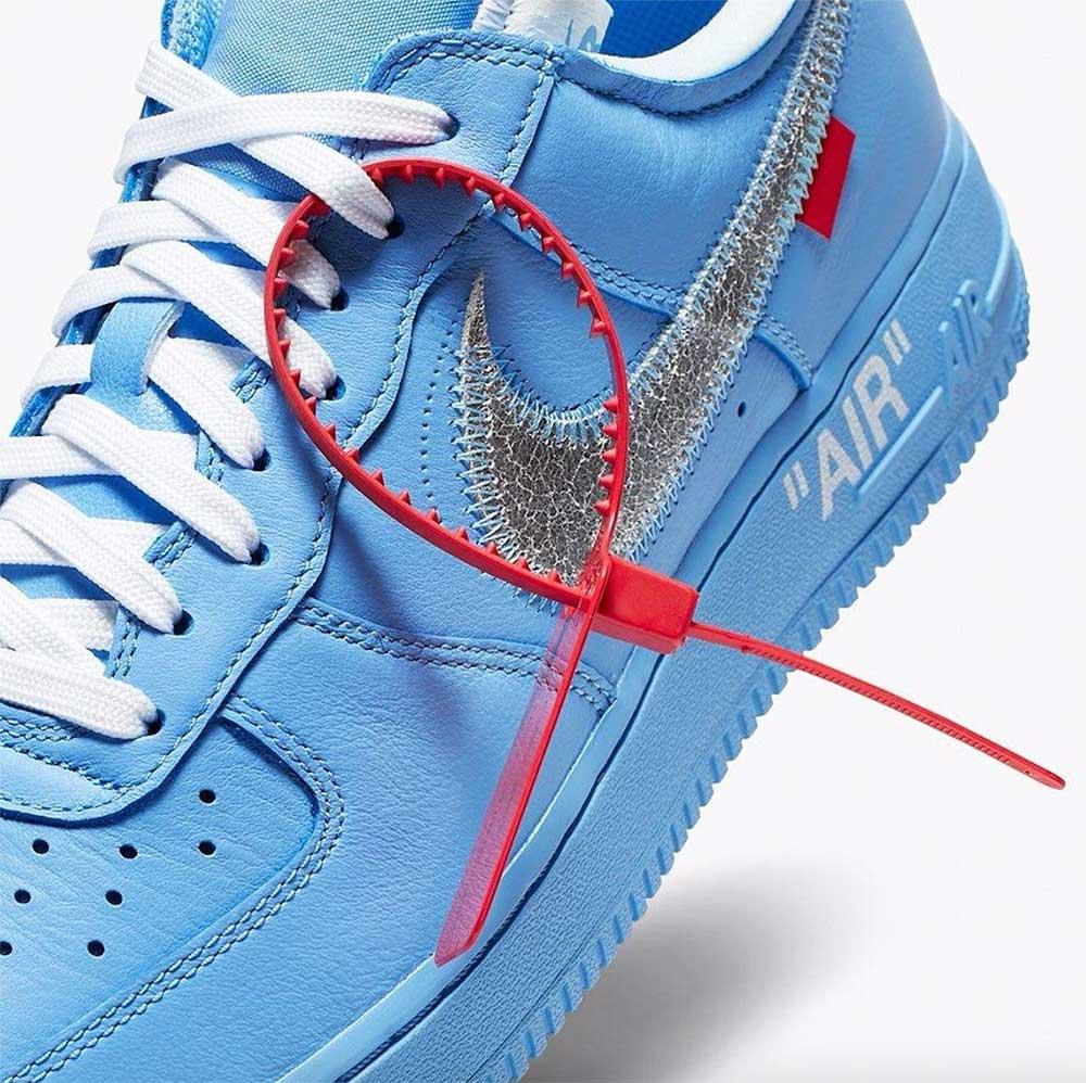 "Off White X Nike Air Force 1 ""MCA"" uscite le foto ufficiali"