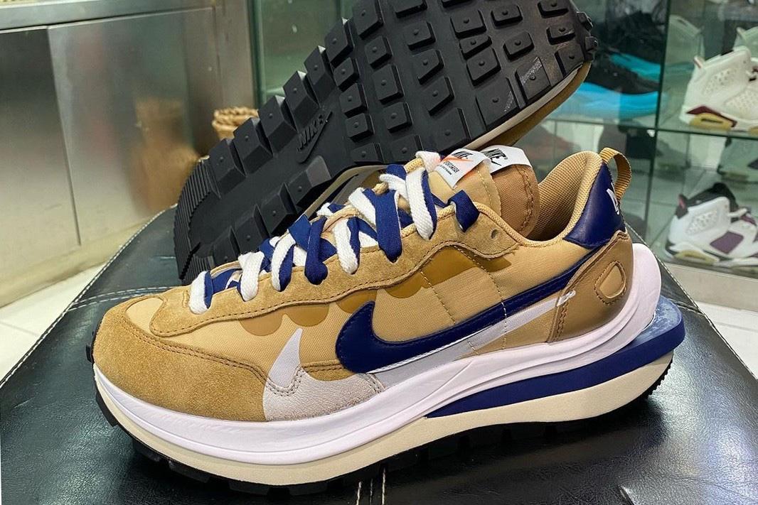 sacai x Nike Vaporwaffle beige