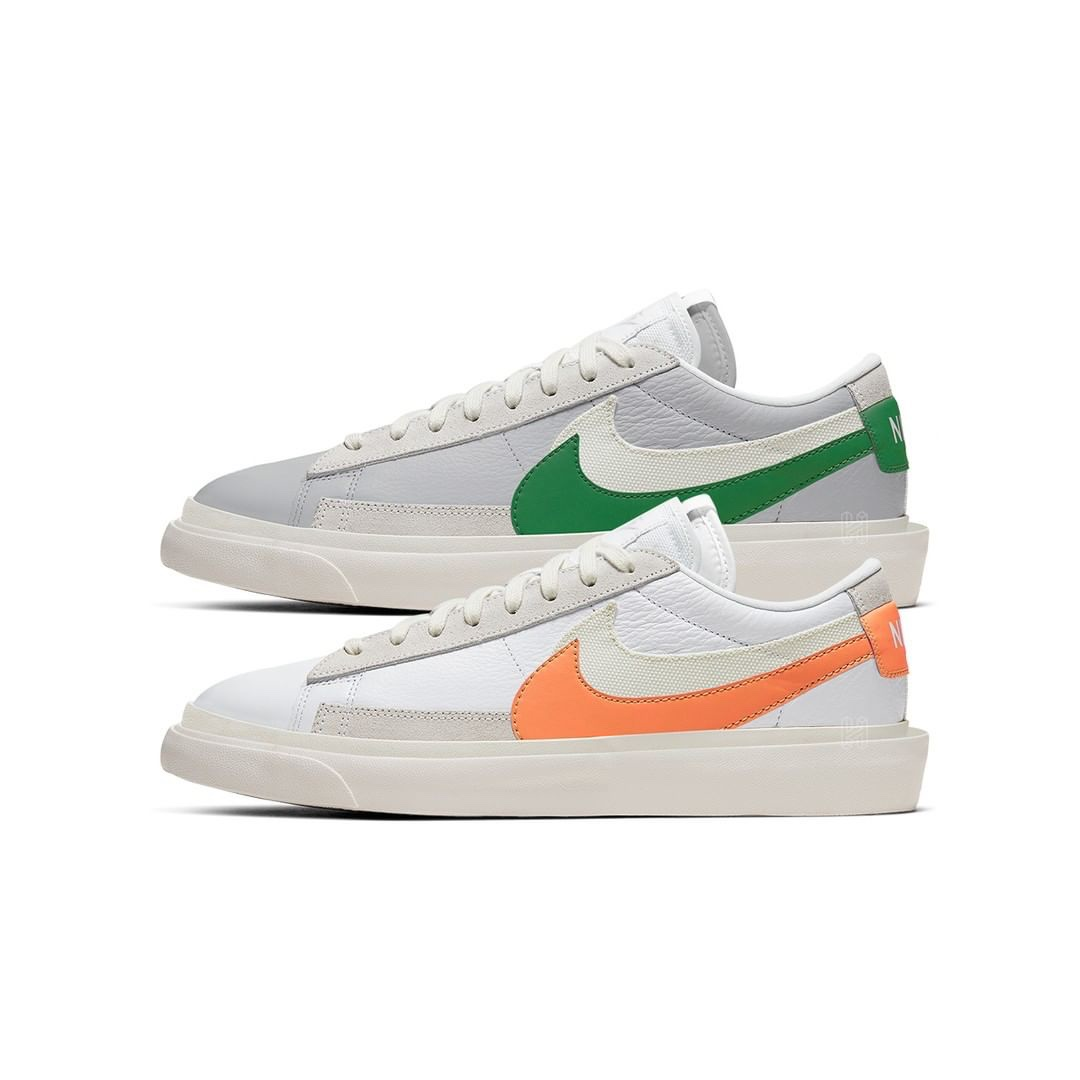 sacai x Nike Blazer Low due colorazioni