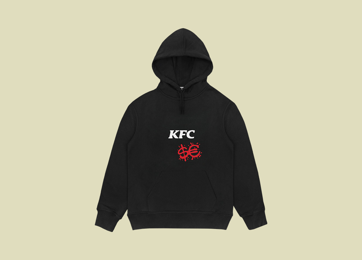 Sfera Ebbasta x KFC hoodie