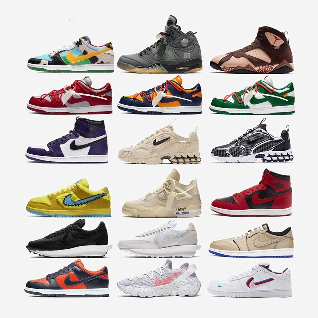 Sneakers Nike in restock per lo SNKRS Day 2020