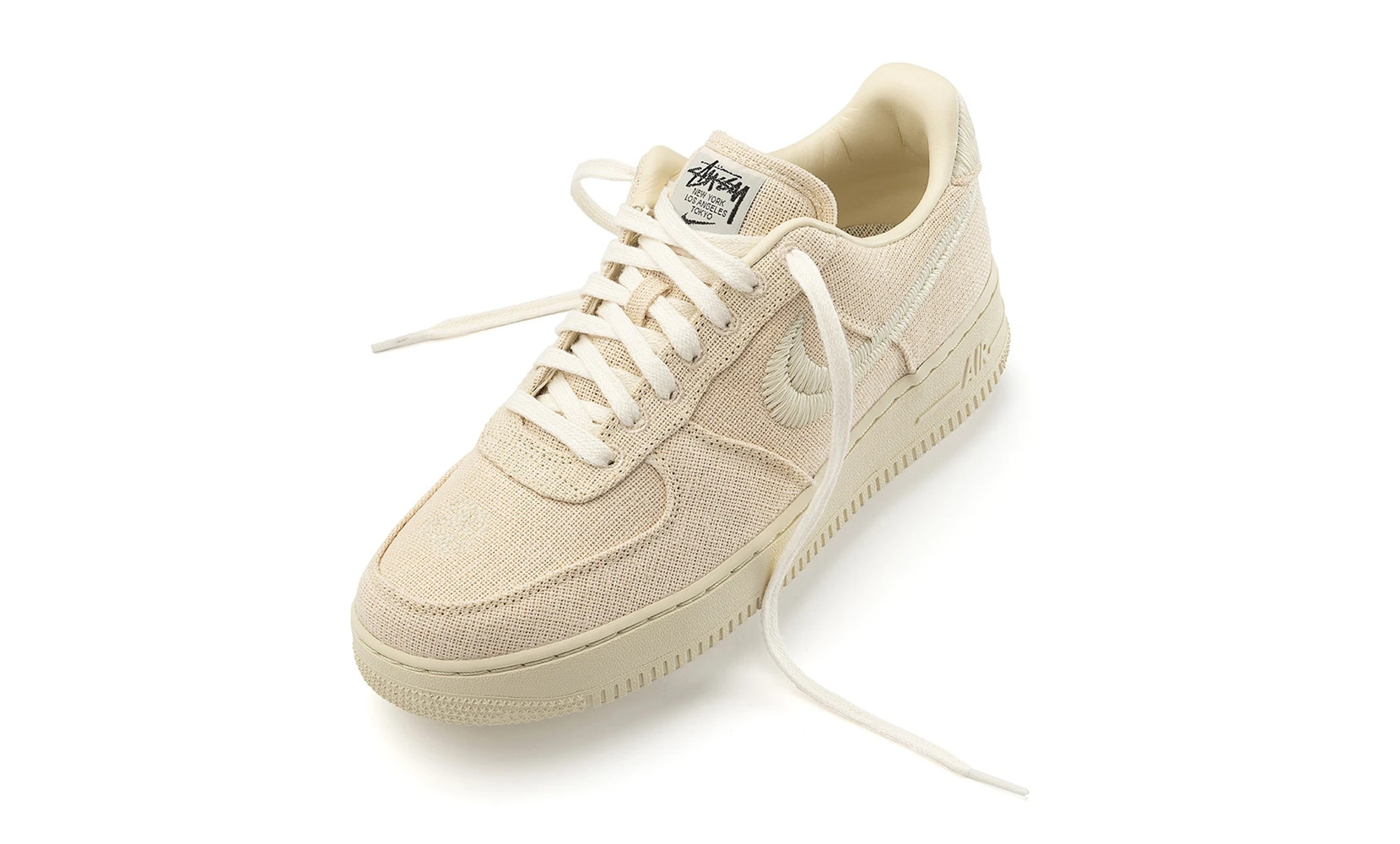 stussy x nike air force 1 fossil