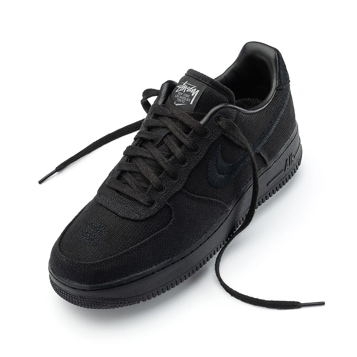 "Stussy x Nike Air Force 1 Low ""Black"""