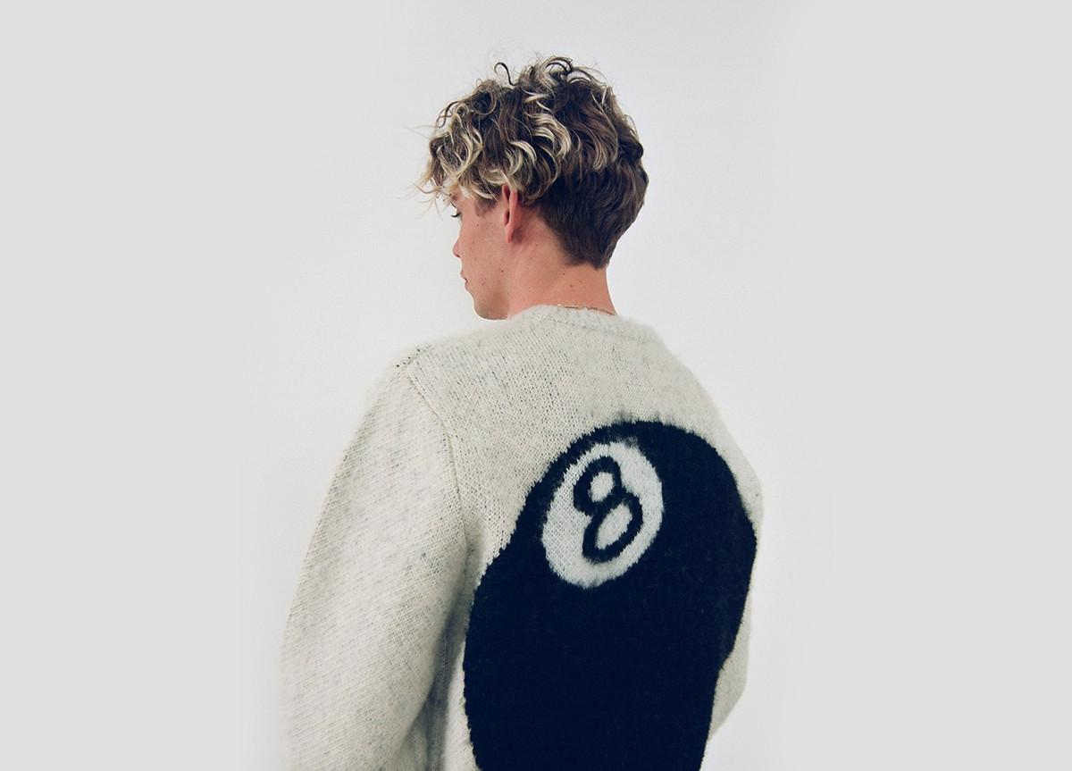 Stussy Fall 2020 8 ball sweater