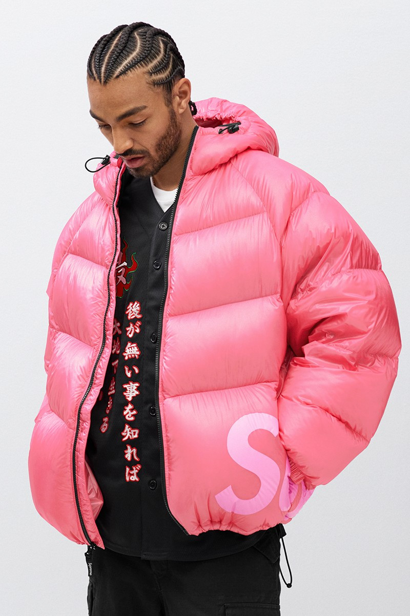 Supreme FW20 hooded puffer jacket