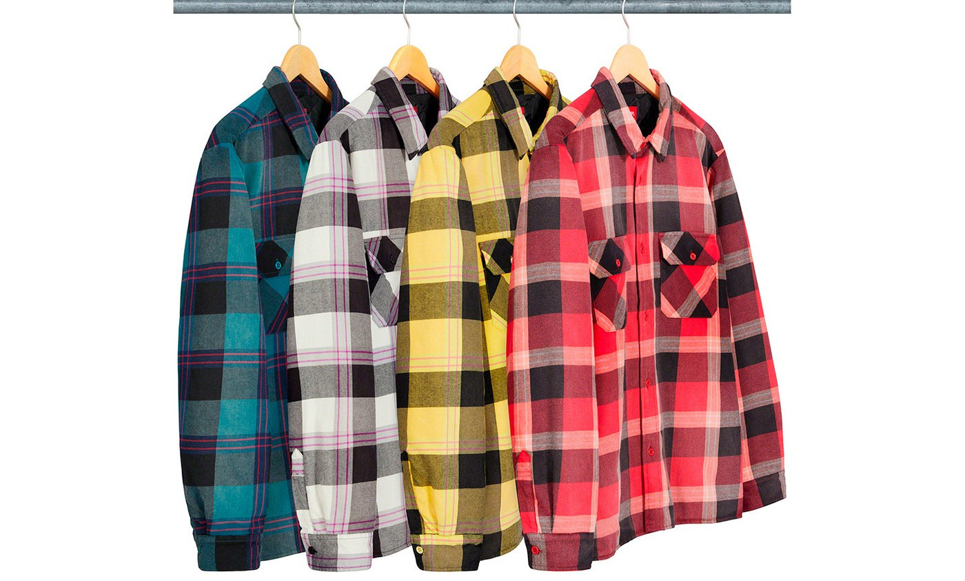 supreme flannel shirt fw20