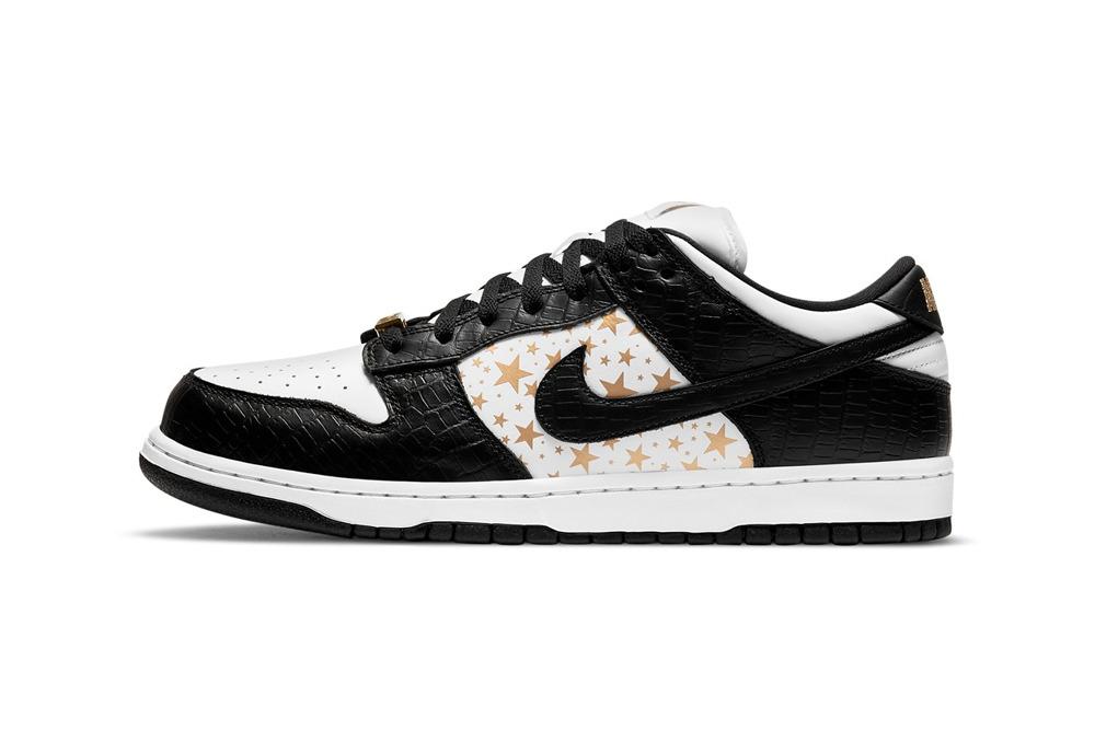 """Supreme x Nike SB Dunk Low """"Black"""""""